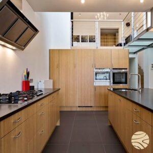 keuken in bamboe